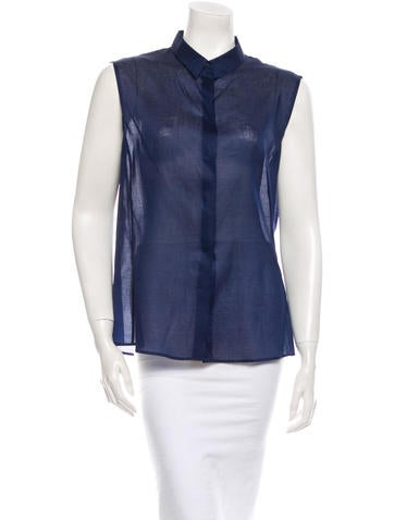 Jil Sander Sleeveless Top None