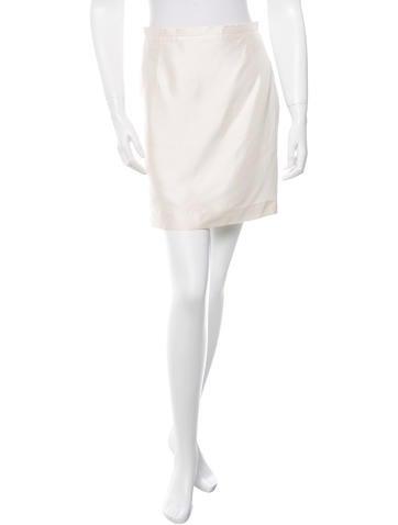 Jil Sander Silk Mini Skirt