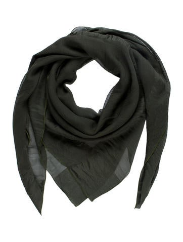 Sheer Square Scarf