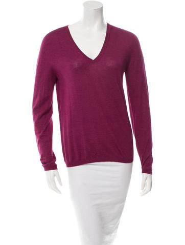 Jil Sander Cashmere & Silk-Blend Sweater None