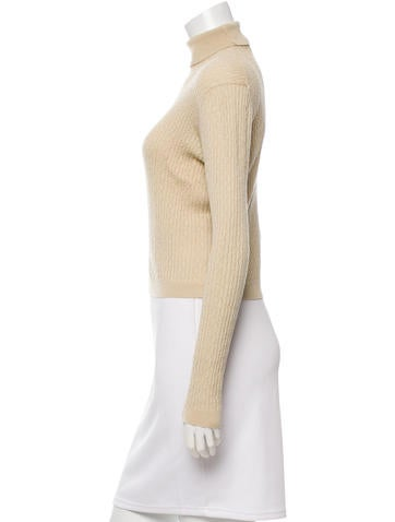 Wool Turtleneck Top
