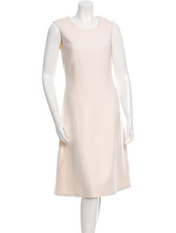 Jil Sander Sleeveless Cashmere Dress w/ Tags None