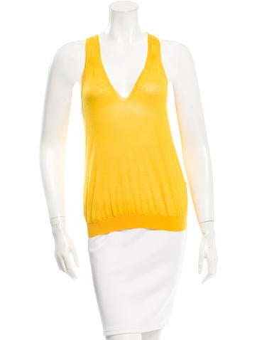 Jil Sander Sleeveless Cropped Top None