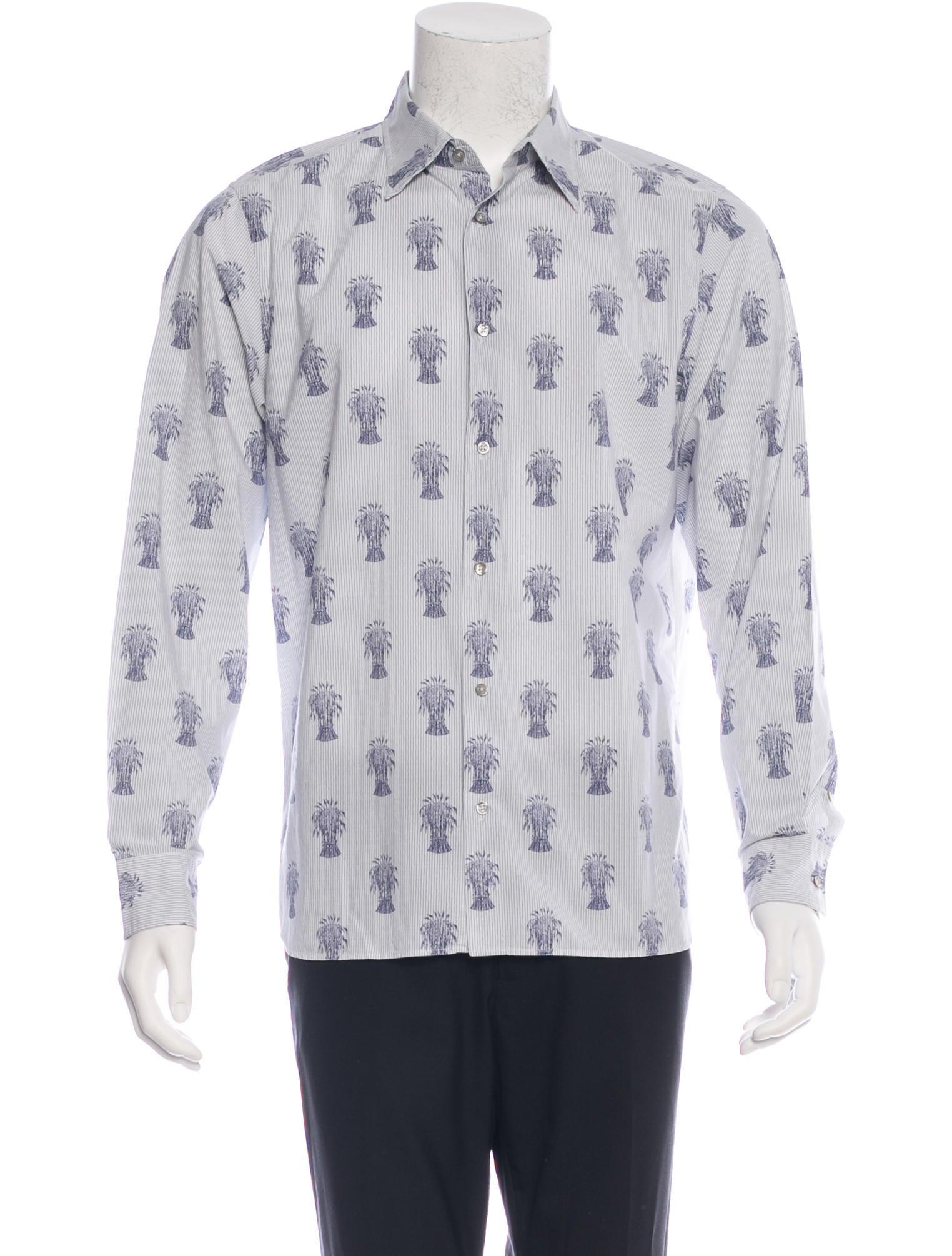Jil sander striped woven shirt clothing jil32285 the for Jil sander mens shirt