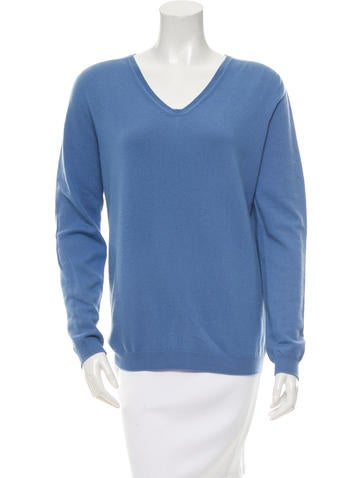 Jil Sander Pullover V-Neck Sweater None