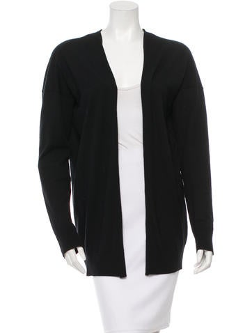 Jil Sander Draped Open Front Cardigan None