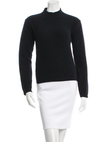 Jil Sander Mock Neck Knit Top None