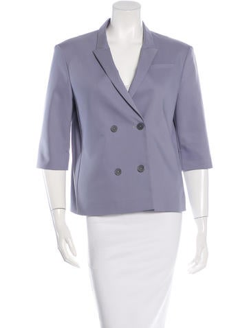 Jil Sander Oversize Double-Breasted Blazer None