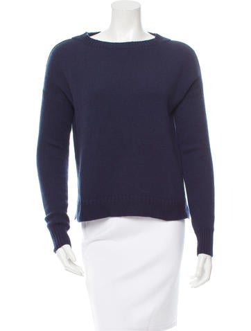 Jil Sander Bateau Neck Cashmere Sweater None