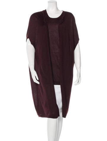 Jil Sander Cashmere Sleeveless Cardigan Set None