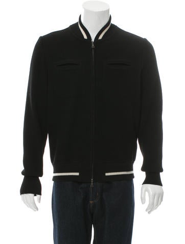 Jil Sander Wool Bomber Jacket None