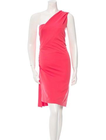 Jil Sander One-Shoulder Sleeveless Dress None