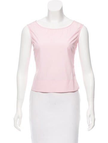 Jil Sander Sleeveless Crop Top