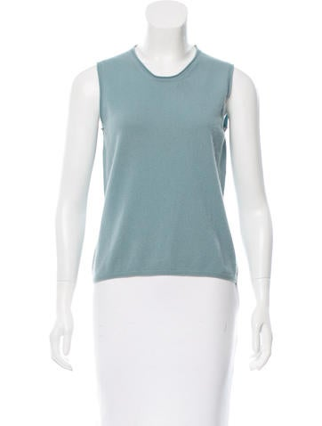 Jil Sander Cashmere Sleeveless Top None