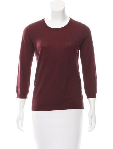 Jil Sander Silk & Cashmere-Blend Sweater None
