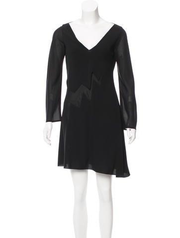 Jil Sander A-Line Knee-Length Dress None