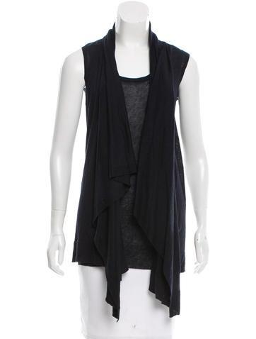 Jil Sander Linen-Blend Vest Set w/ Tags None