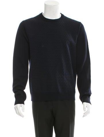Jil Sander Patterned Wool Sweater w/ Tags None
