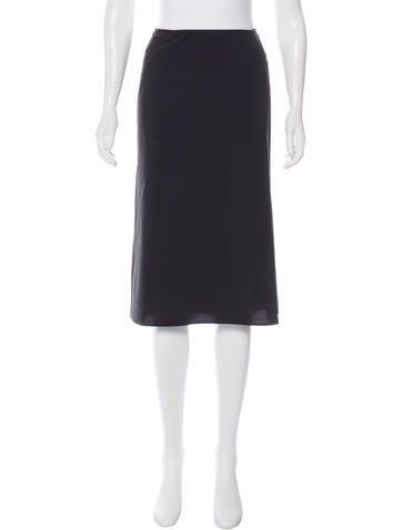 Low-Rise Midi Skirt