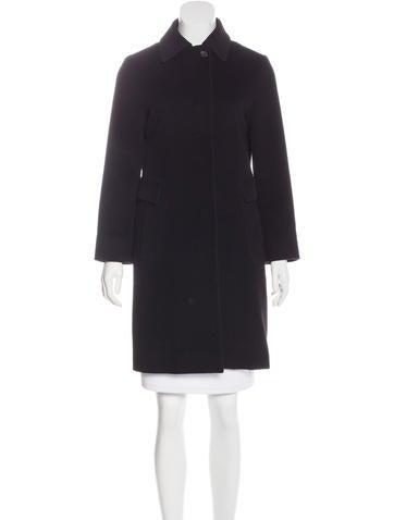Jil Sander Virgin Wool Knee-Length Coat