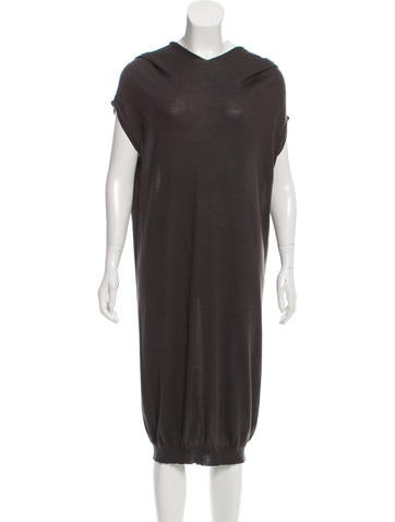 Jil Sander Sleeveless Cashmere Dress None