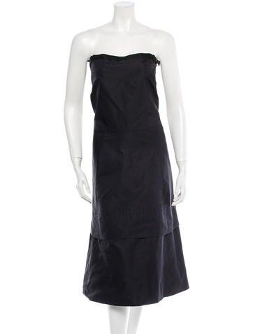 Jil Sander Silk Dress None