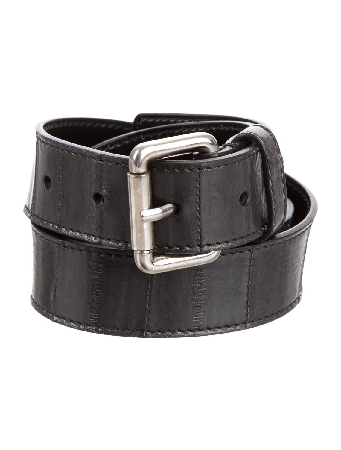 jil sander embossed leather belt accessories jil35803