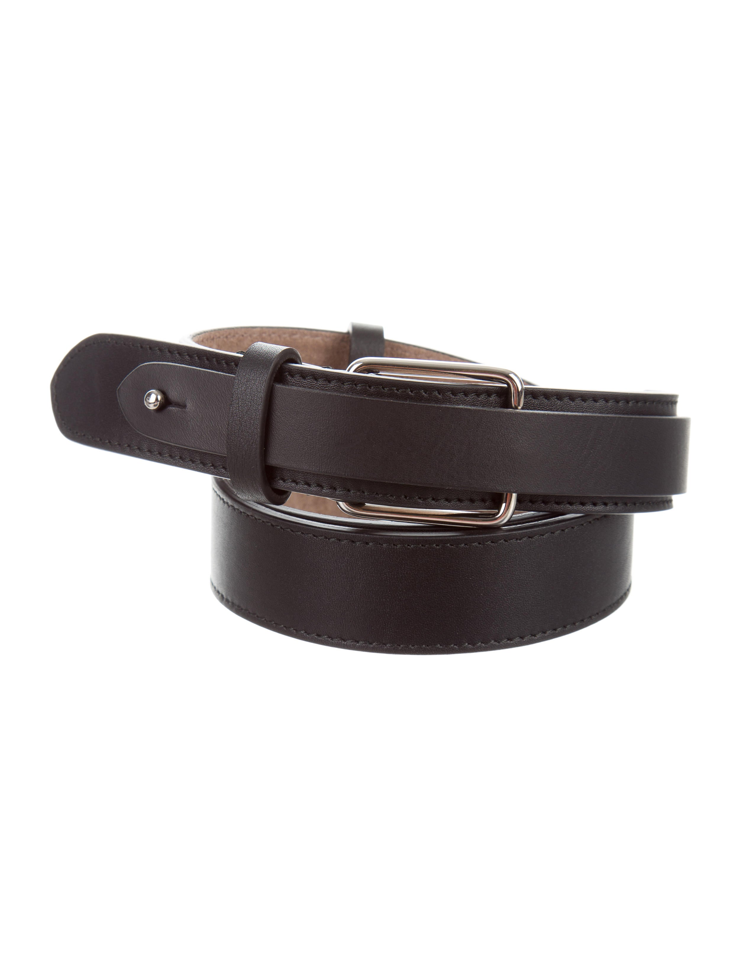 jil sander leather waist belt w tags accessories