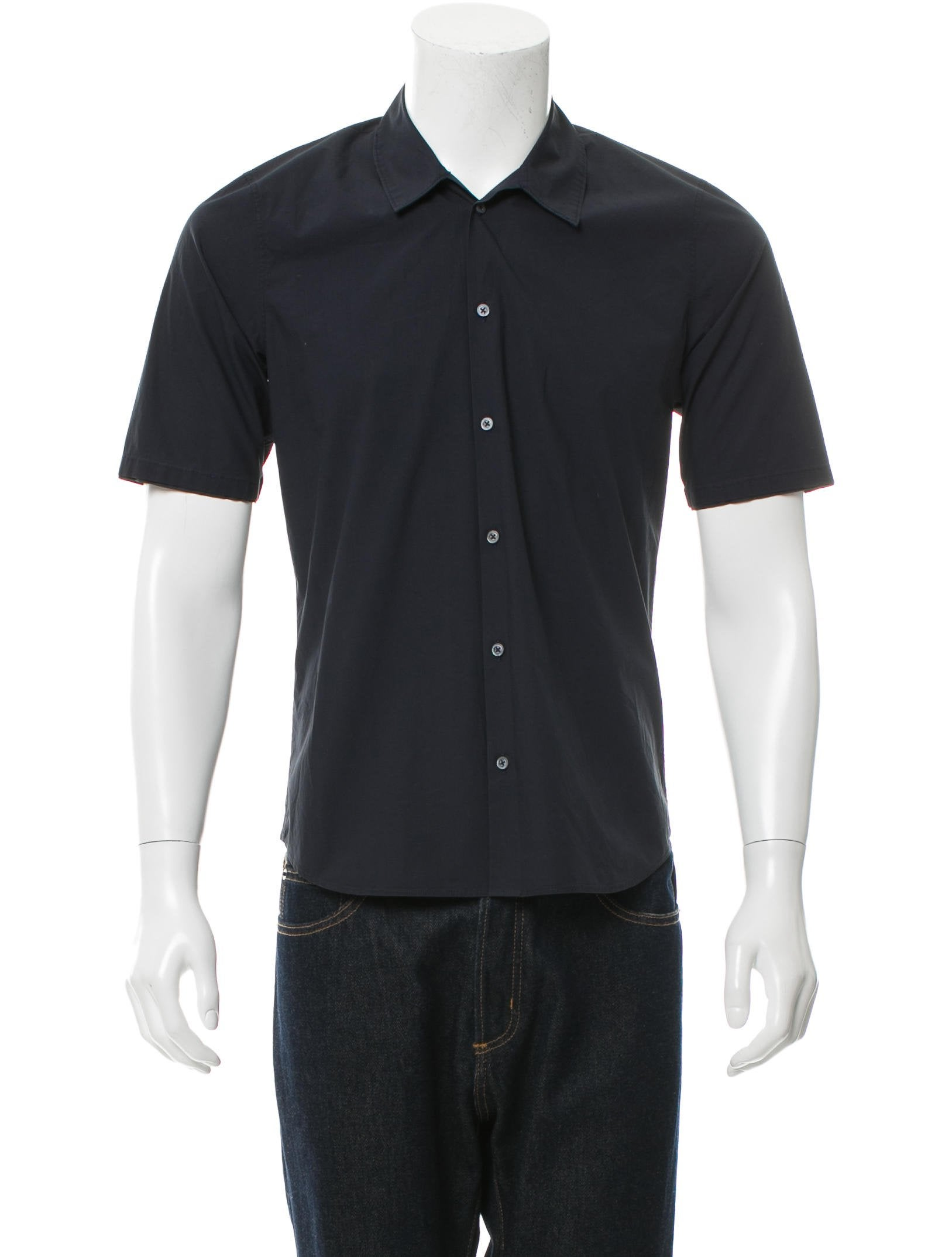 Jil Sander Short Sleeve Button Up Shirt Clothing