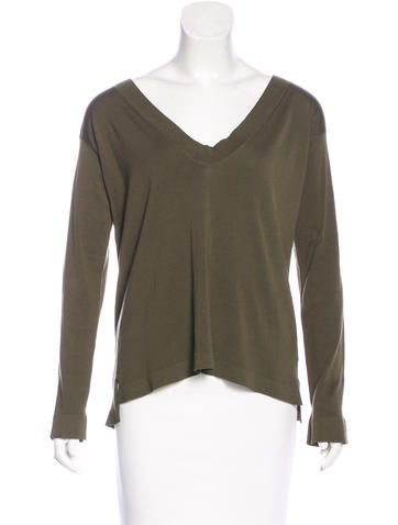 Jil Sander Knit Long Sleeve Top None