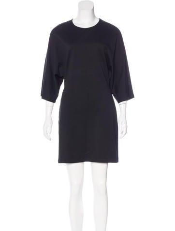 Jil Sander Dolman Sleeve Mini Dress None