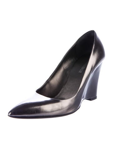 Jil Sander Metallic Pointed-Toe Pumps cheap sale choice cheap sale how much discount pictures classic AAYygzhz26