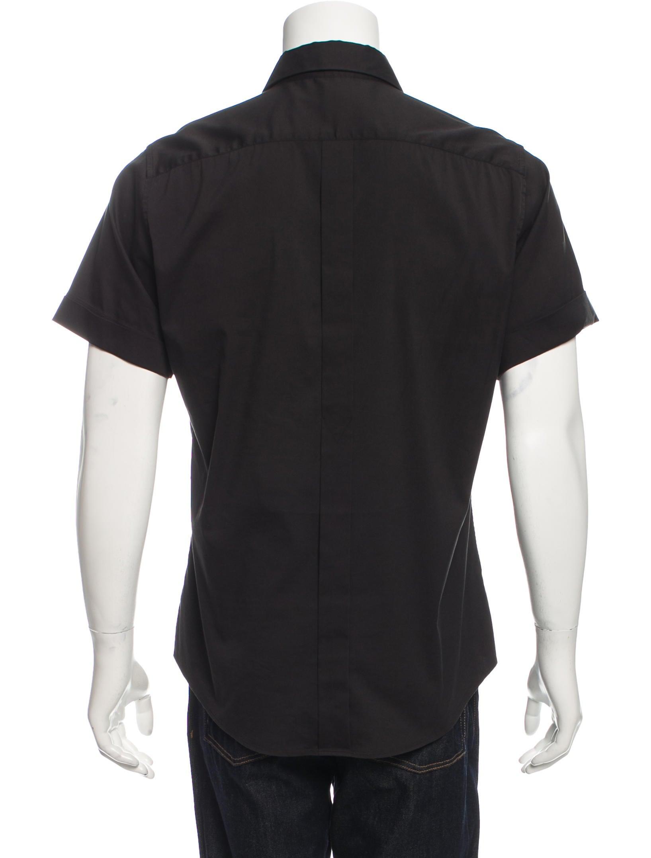 Jil sander woven button up shirt clothing jil36912 for Jil sander mens shirt