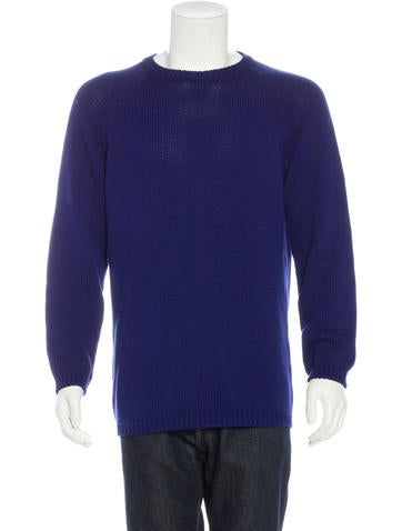 Jil Sander Crew Neck Knit Sweater None