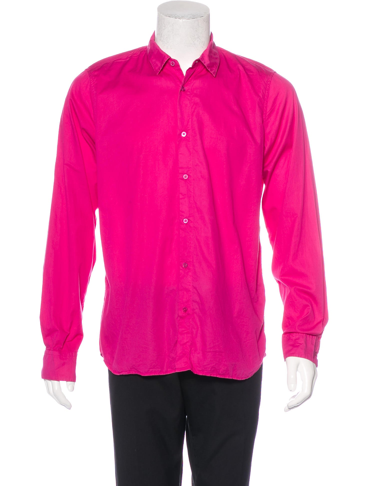 Jil sander woven button up shirt clothing jil37122 for Jil sander mens shirt