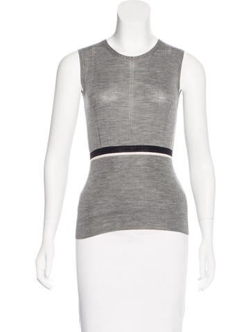 Jil Sander Knit Sleeveless Top None