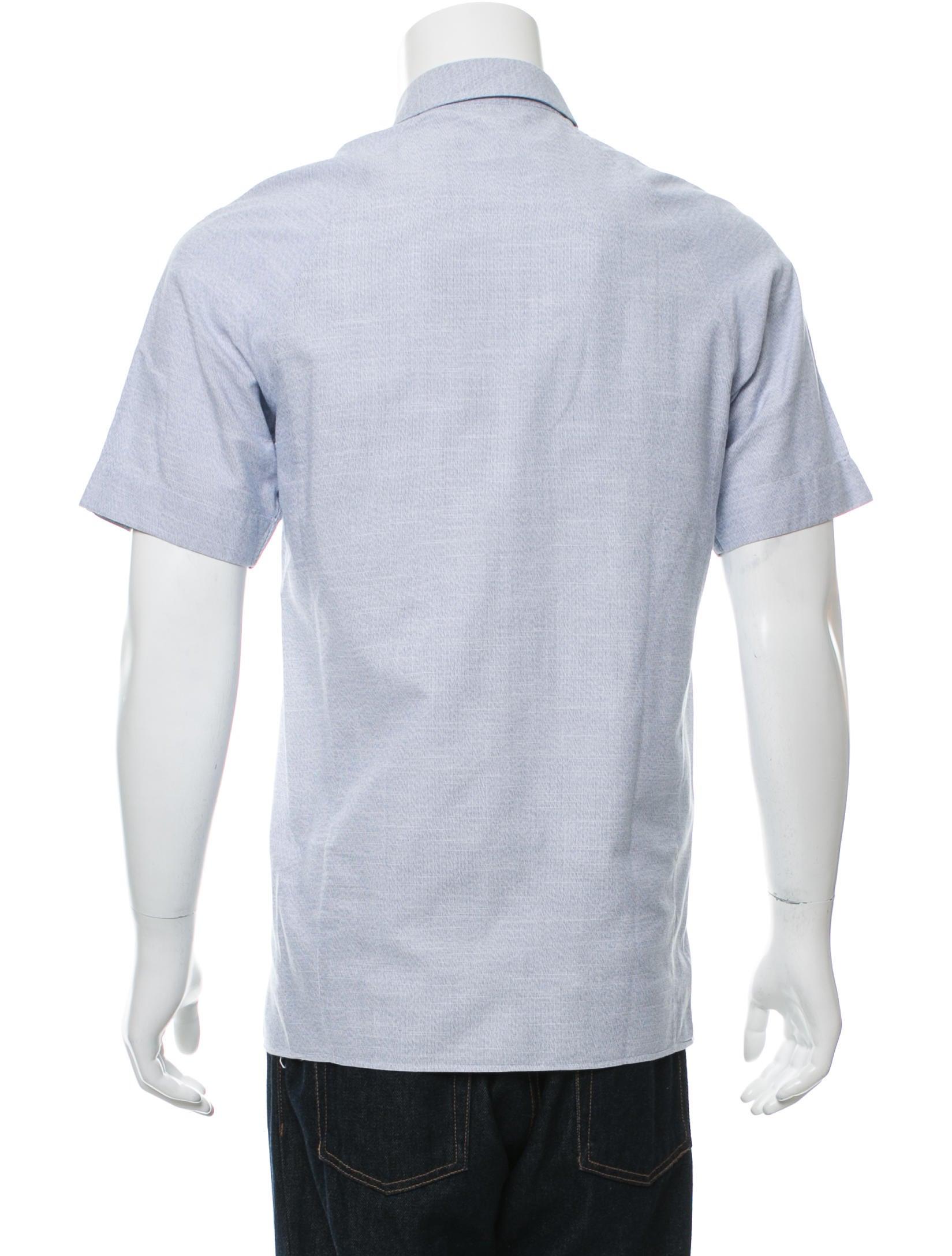 Jil sander short sleeve button up shirt clothing for Jil sander mens shirt