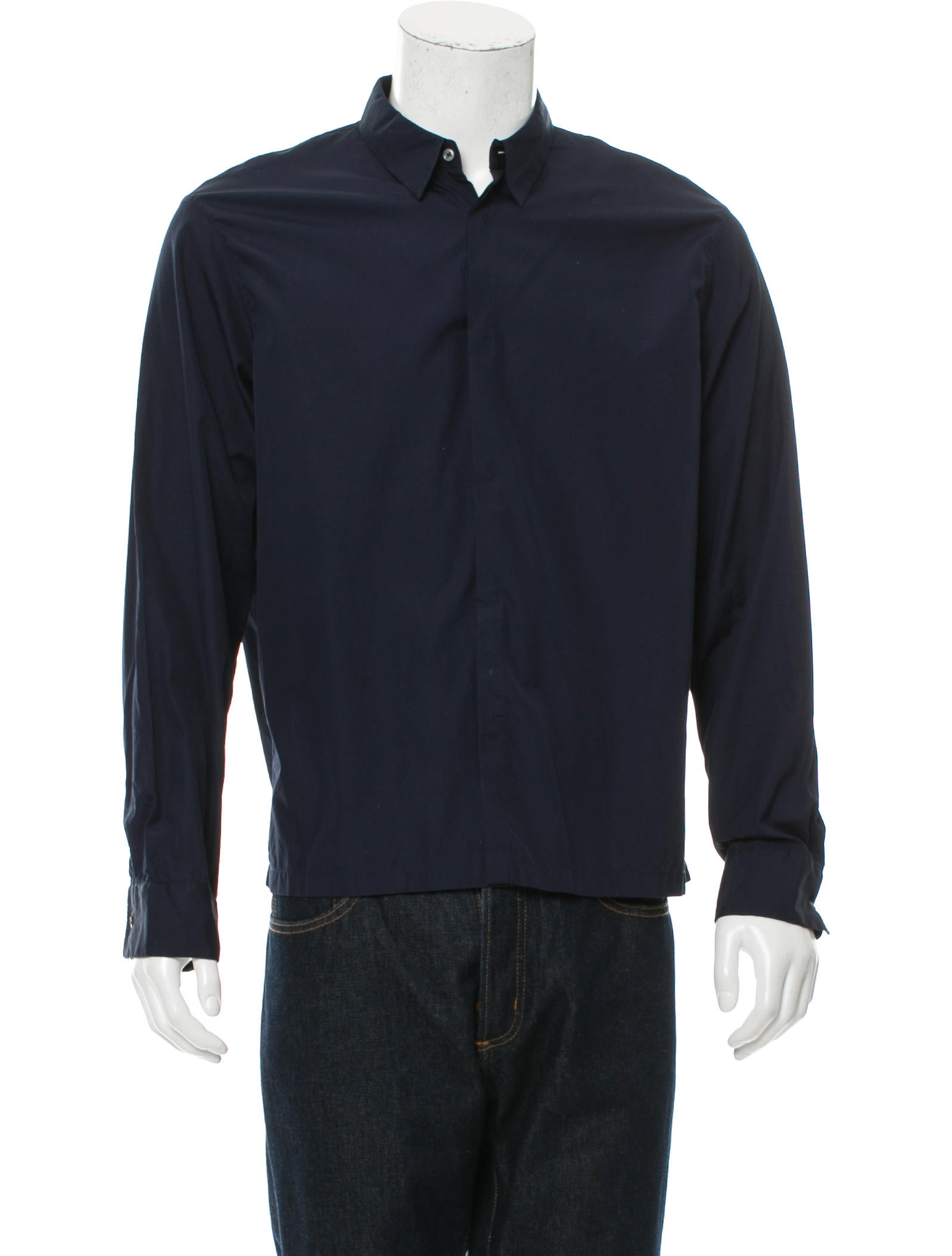 Jil sander long sleeve button up shirt clothing for Jil sander mens shirt