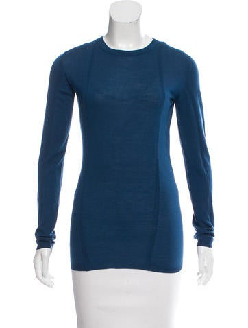 Jil Sander Rib Knit Crew Neck Sweater None