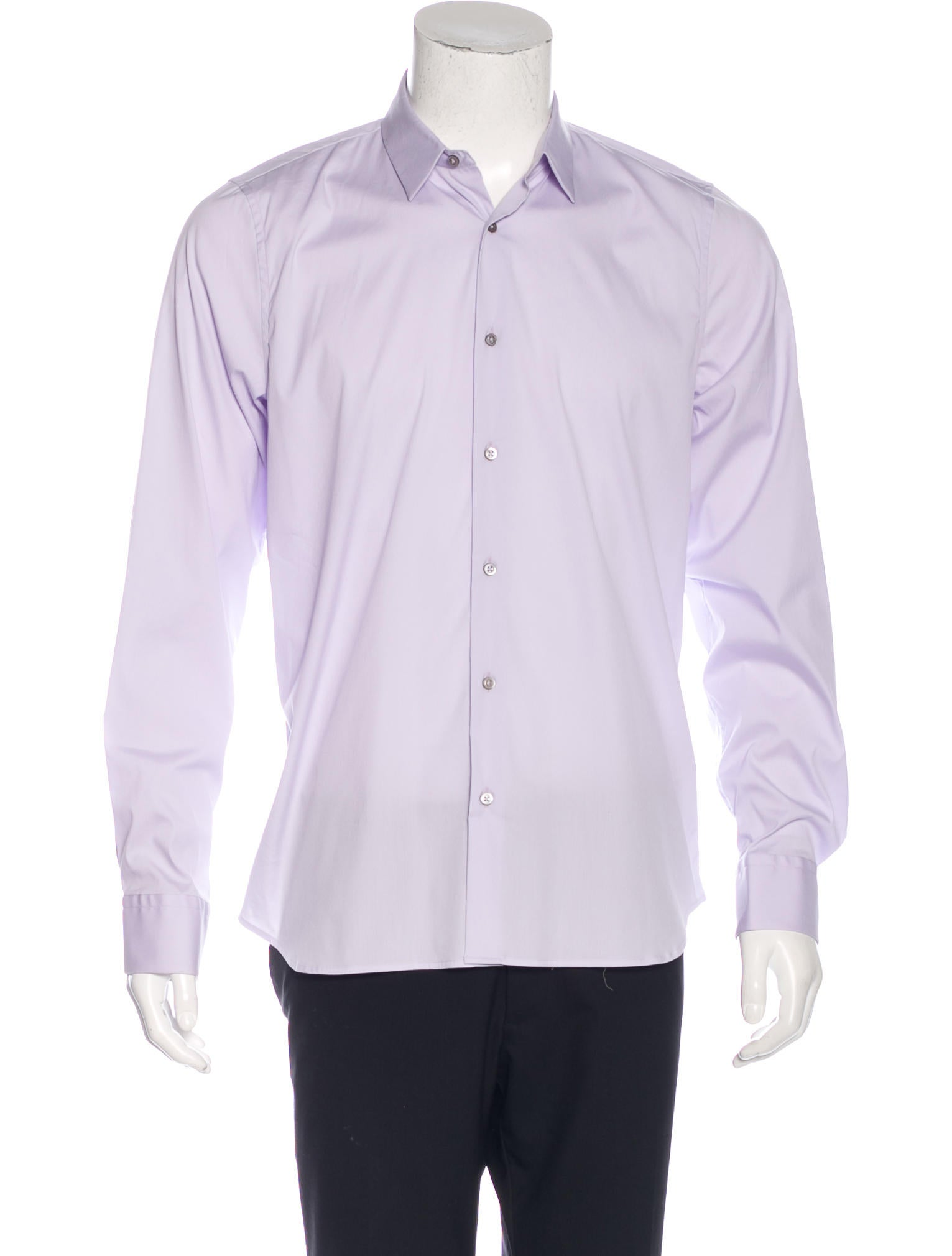 Jil sander woven button up shirt clothing jil37890 for Jil sander mens shirt