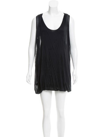 Jil Sander Sleeveless Shirt Dress None