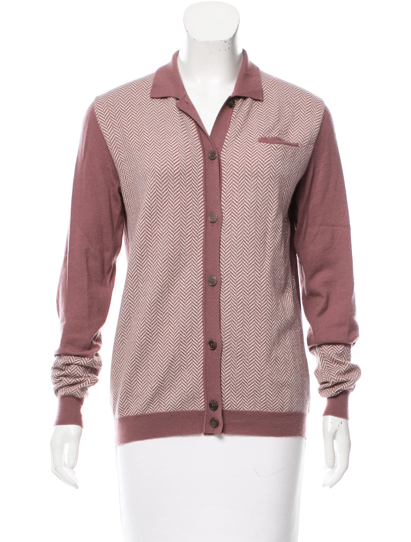 Jil sander pattern wool top clothing jil37954 the for Best wool shirt jackets