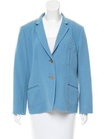 Jil Sander Cashmere Notch-Collar Jacket None