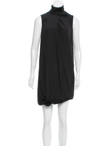 Jil Sander Sleeveless Silk Dress w/ Tags None