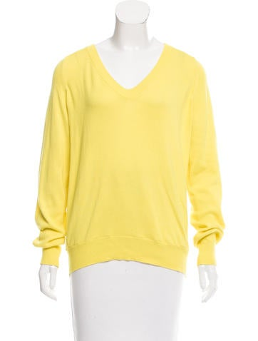 Jil Sander V-Neck Lightweight Sweater None