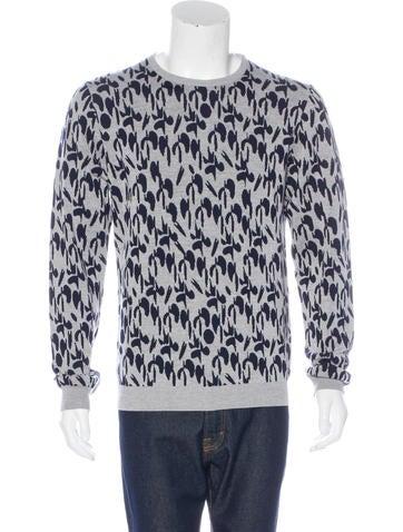 Jil Sander Wool Patterned Sweater w/ Tags None