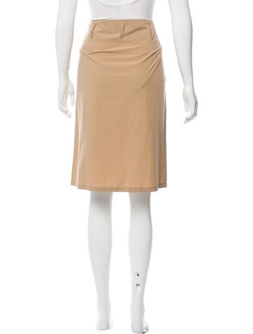 jil sander casual knee length skirt clothing jil38309