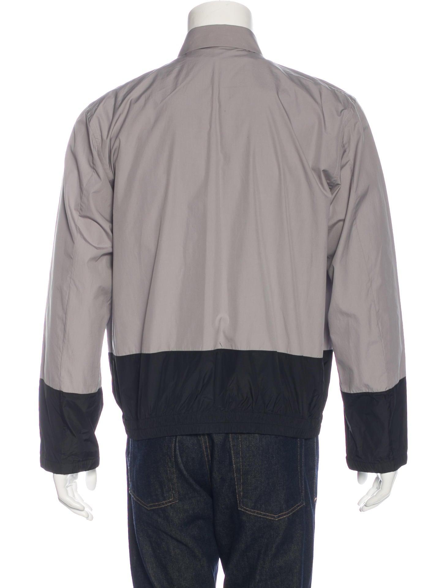 Jil sander colorblock shirt jacket clothing jil38344 for Jil sander mens shirt