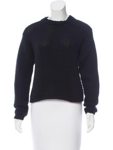 Jil Sander Chunky Cashmere Sweater None