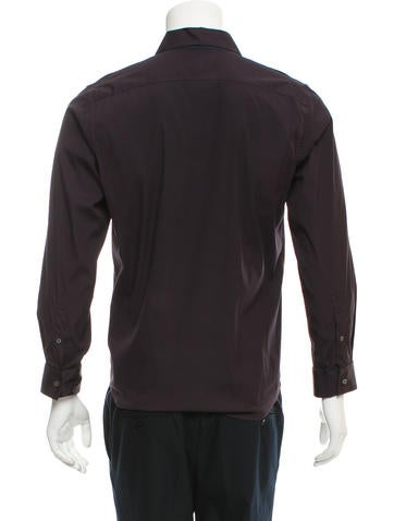 Jil sander two tone button up shirt mens shirts for Jil sander mens shirt